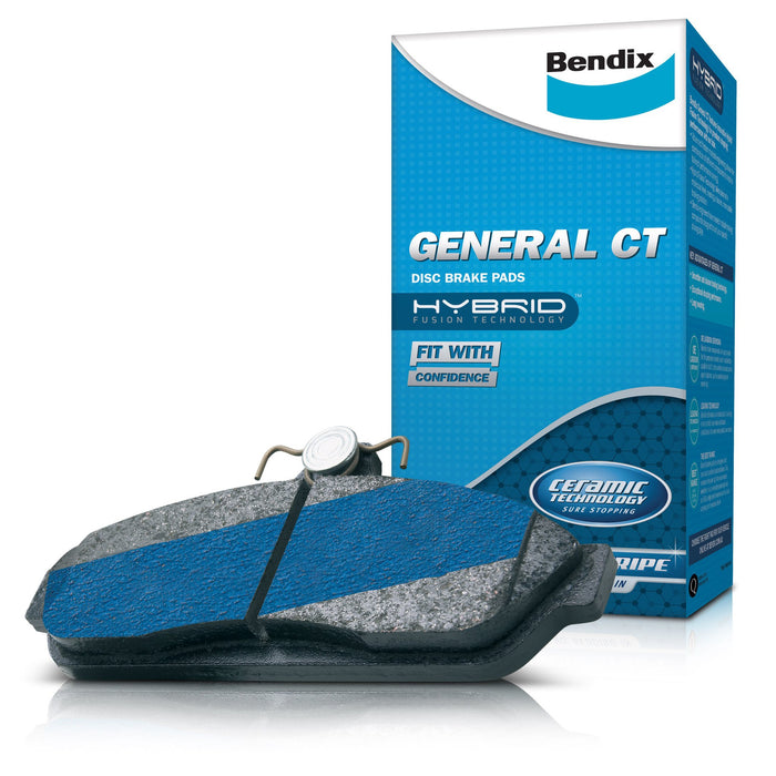 Bendix General CT Brake Pad Set - DB1672GCT - A1 Autoparts Niddrie