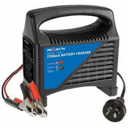Projecta Manual 12V 2700mA Battery Charger - MC400 - A1 Autoparts Niddrie