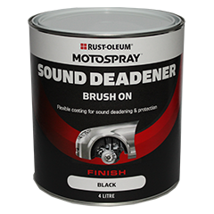 Motospray Brush On Sound Deadener - 4 Litre