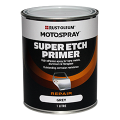 Motospray Super Etch Primer (Grey) - 1 Litre