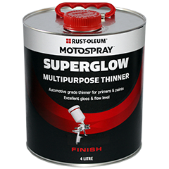 Motospray Superglow Multipurpose Thinner - 4 Litre