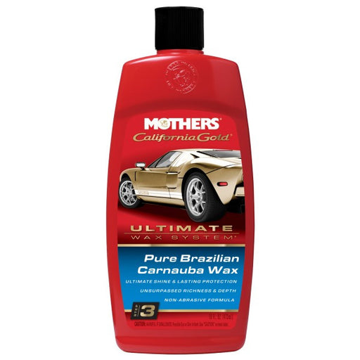 Mothers California Gold Pure Brazilian Carnauba Wax - 473ml - A1 Autoparts Niddrie