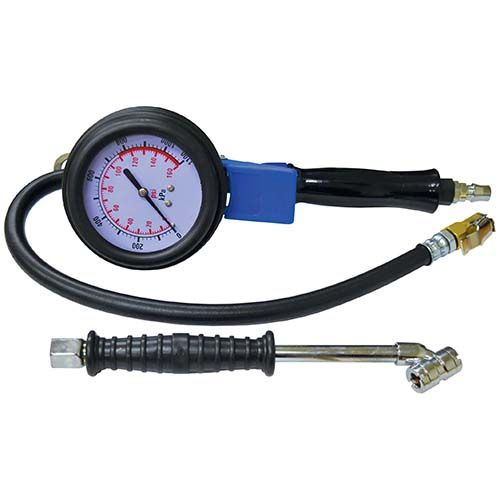 Tyre Inflator with Heavy Duty Gauge