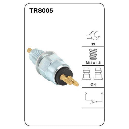 Tridon Reverse Light Switch - TRS005 - A1 Autoparts Niddrie
