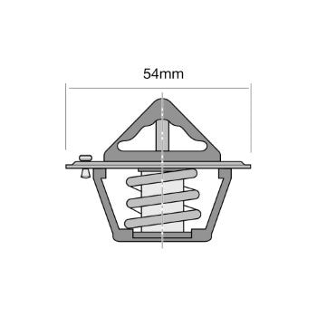 Tridon Thermostat - TT449-190 - A1 Autoparts Niddrie