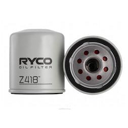 Ryco Oil Filter - Z418 - A1 Autoparts Niddrie