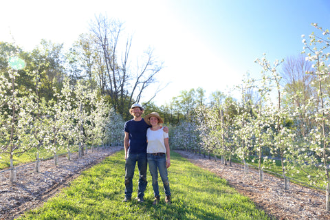 Crystal and Scott Van Gaasbeck, Under the Tree Farm