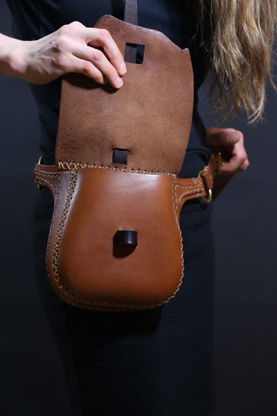 One-of-a-kind Natural Edge Hip Pouch