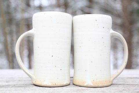 Pair of 20 oz. tankards in matte glaze
