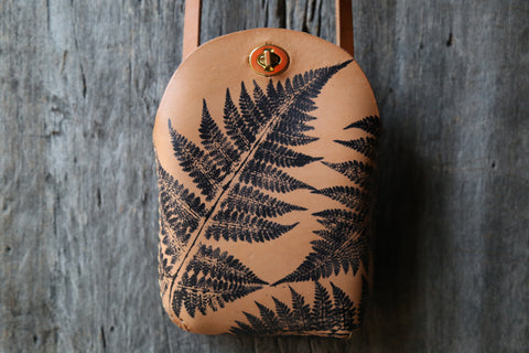 Fern No. 1  Minimalist Crossbody Bag