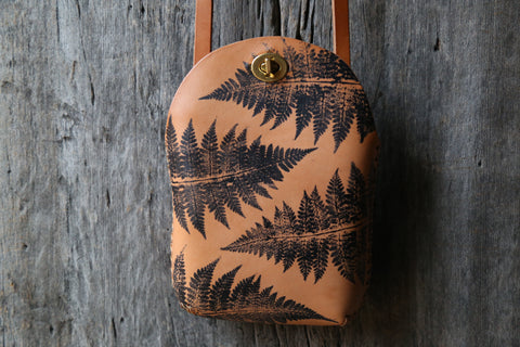 Fern No. 2  Minimalist Crossbody Bag