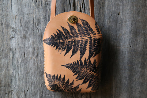 Fern No. 4  Minimalist Crossbody Bag