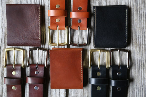 Belt & Wallet Gift Set