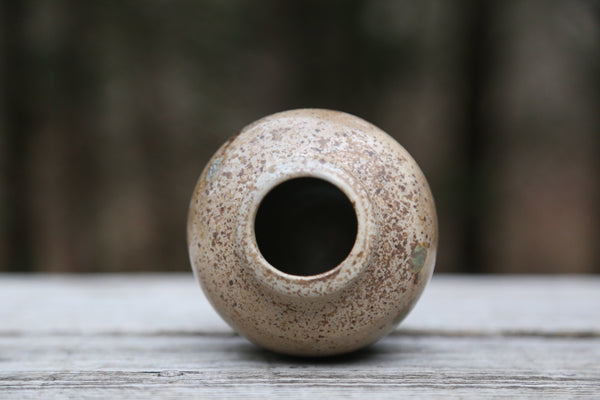 Small Wood Fired Bud Vase No. 1