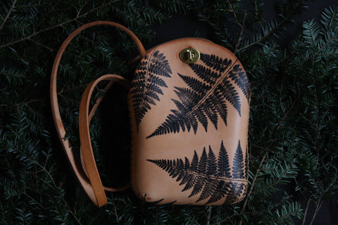 Fern No. 3  Minimalist Crossbody Bag