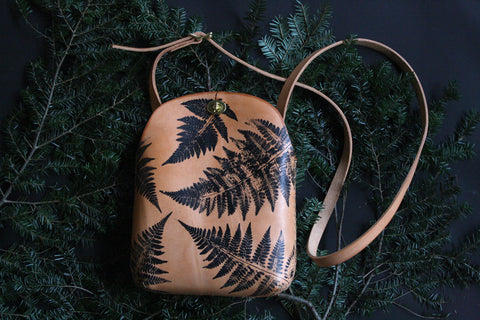 Large Fern Minimalist Crossbody Bag