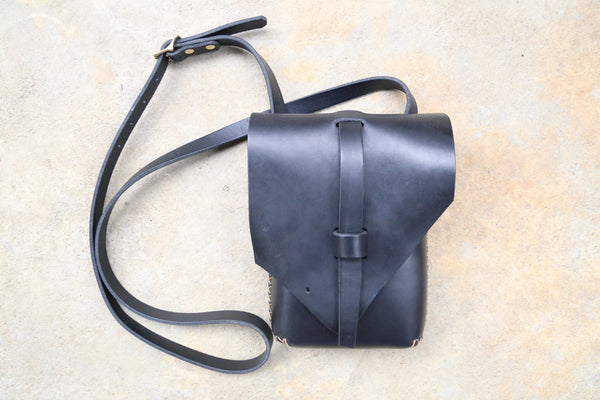Natural Edge Crossbody Bag No. 4