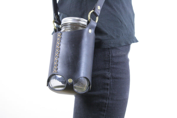 Mason Jar Sling in Black