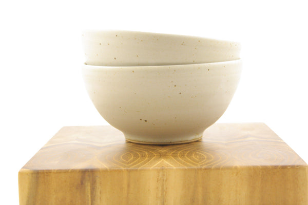 Two bowls in matte glaze