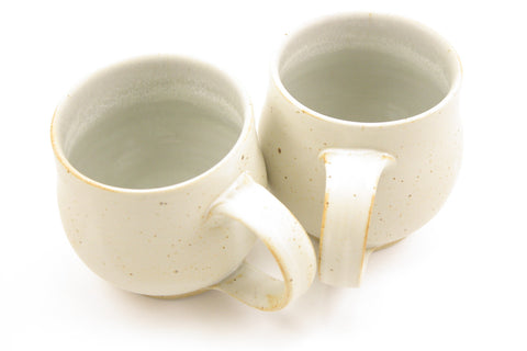 Pair of 10 oz. mugs in matte glaze