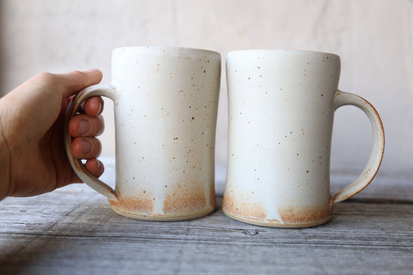 Pair of 16 oz. tankards in matte glaze