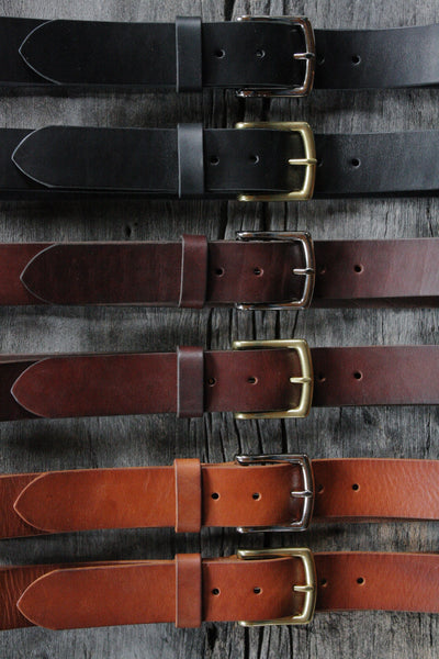 Gift certificate for a handmade leather belt