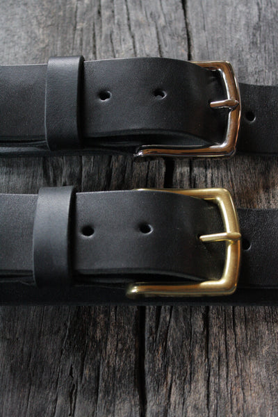 "Classic 1.5"" Wide Handmade Leather Belt"