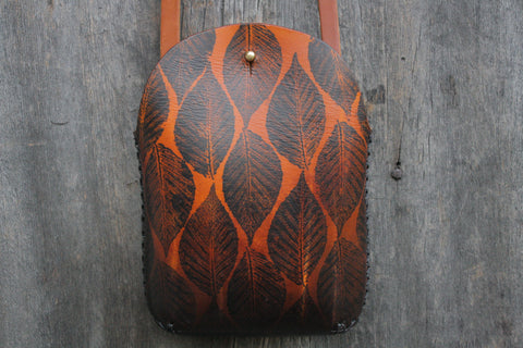 Beech Leaf Minimalist Crossbody Bag  No. 2