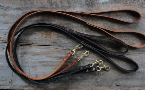 Classic Handmade Dog Leash 3/4""