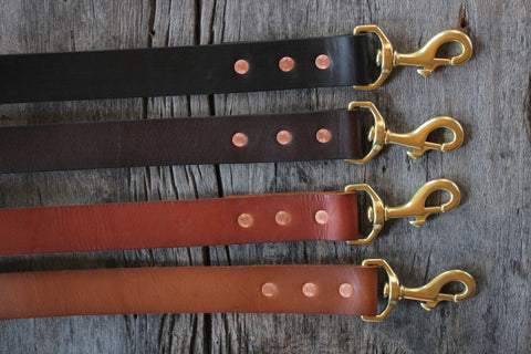 Classic Handmade Dog Leash 1.25""