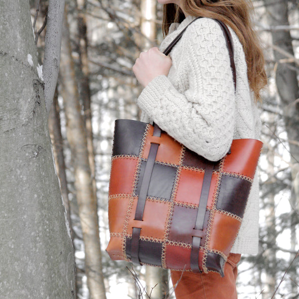 Patchwork Tote (made to order)