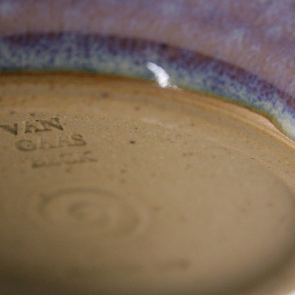serving bowl in lavender glaze