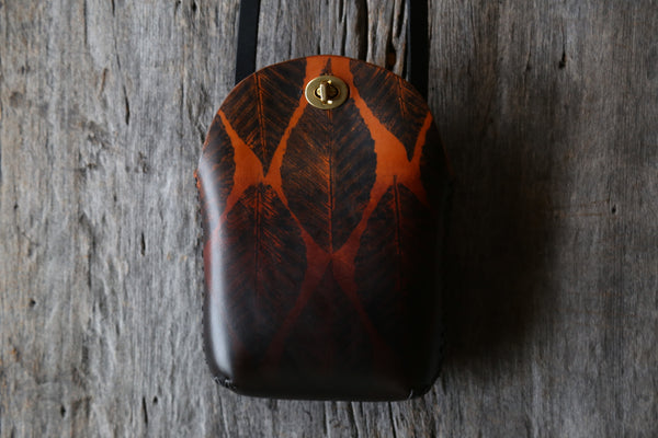 Beech Leaf No. 1  Small Minimalist Crossbody Bag
