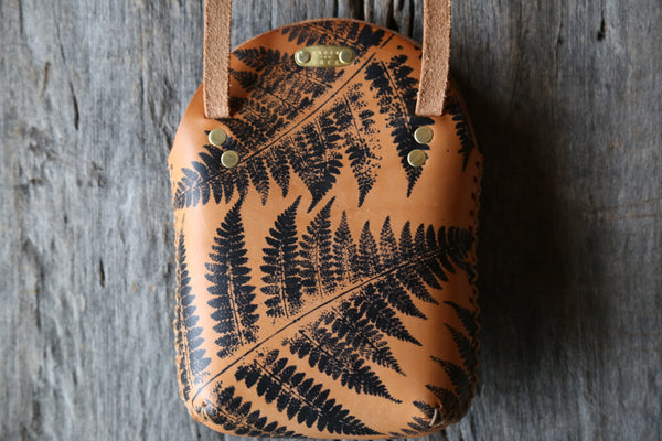 Fern No. 2  Small Minimalist Crossbody Bag