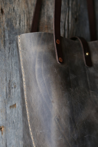 Weathered grey Utility Tote
