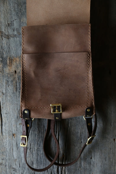 Taupe water buffalo Backpack
