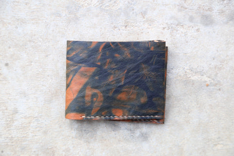 indigo dyed wallet no. 2