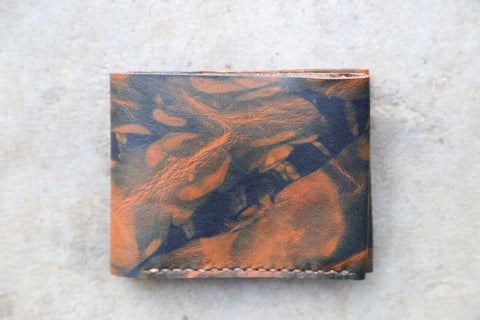 indigo dyed wallet no. 3