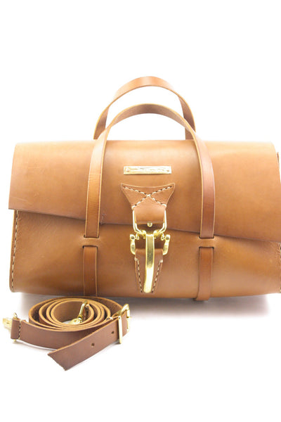 Day Tripper Bag in Ochre steerhide