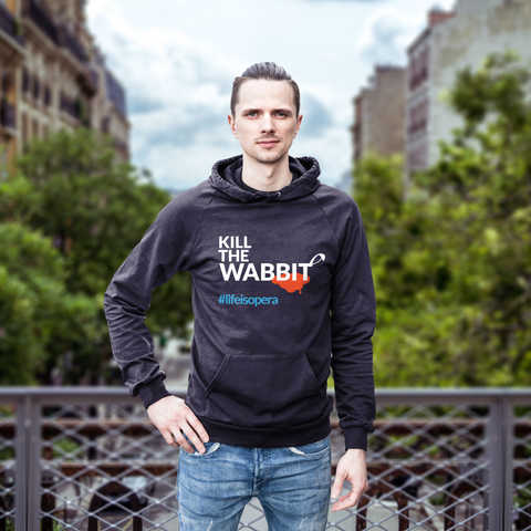 """Kill The Wabbit!"" Hoodie"