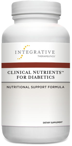Clinical Nutrients For Diabetics 90ct by Integrative Therapeutics