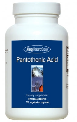 Pantothenic Acid, 90ct VCaps by Allergy Research Group