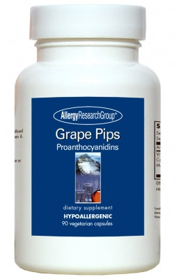 Grape Pips, 90ct VCaps by Allergy Research Group