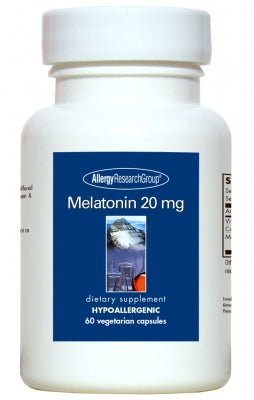 Melatonin 20mg, 60ct VCaps by Allergy Research Group