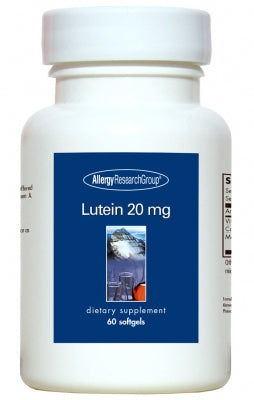 Lutein 20mg, 60ct Softgels by Allergy Research Group