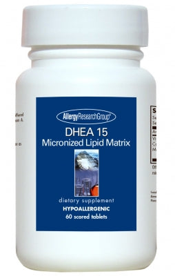 DHEA 15mg, Scored 60ct Tabs by Allergy Research Group
