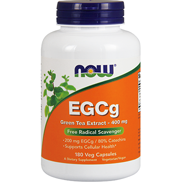 EGCg 400 mg 180 vcaps by NOW Foods