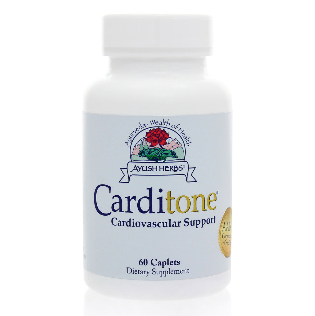 Carditone 60 vcaplets by Ayush Herbs
