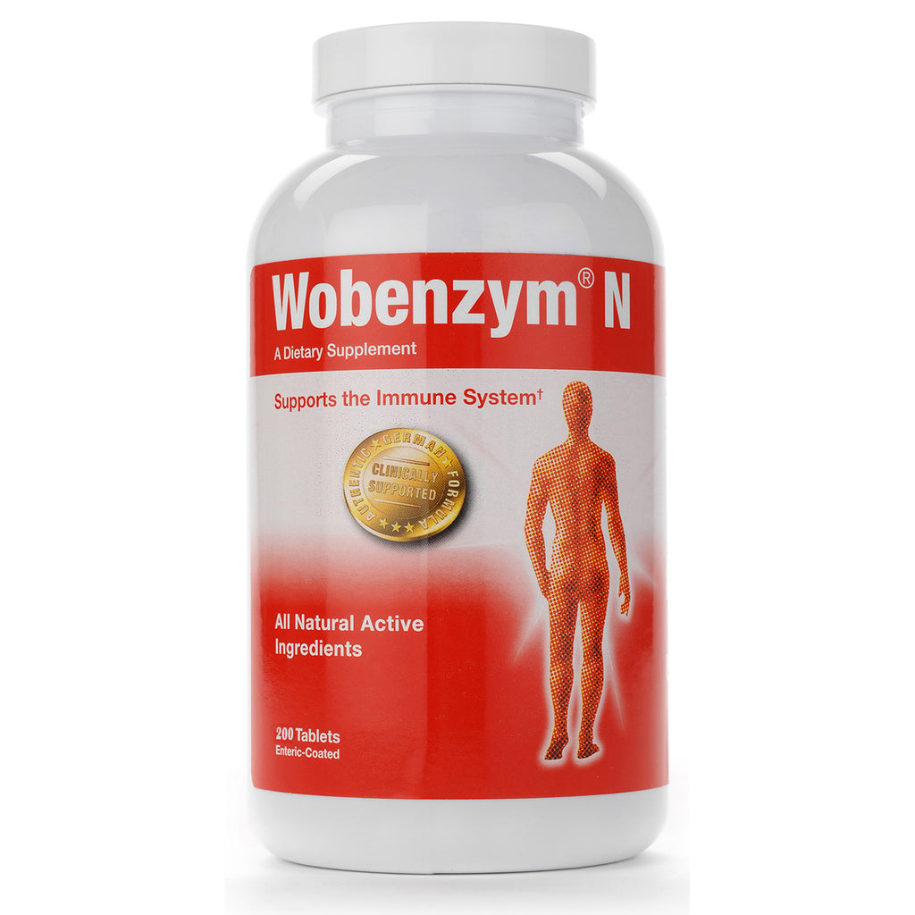 Wobenzym N 200ct by Douglas Labs