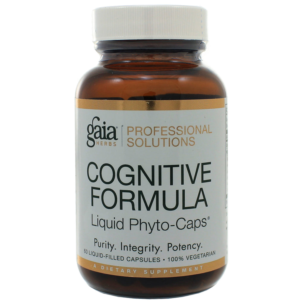 Cognitive Formula 60ct by GAIA Herbs